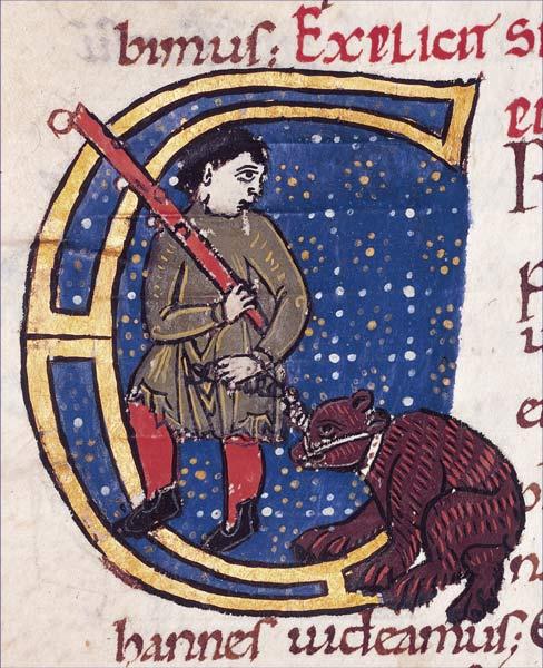 Homme et l'ours