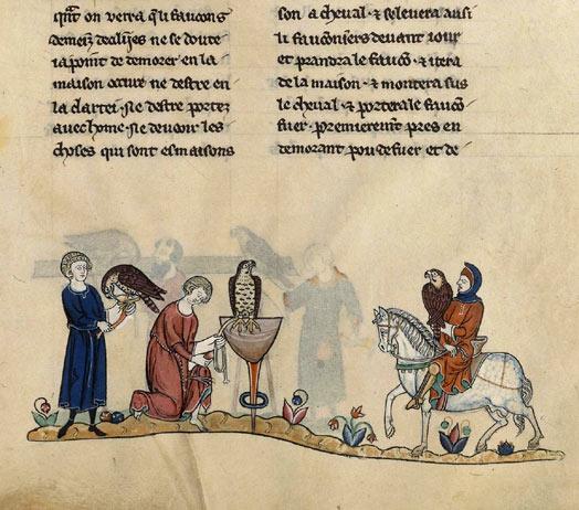 Le Livre de chasse de Gaston Fébus Fr_12400_135