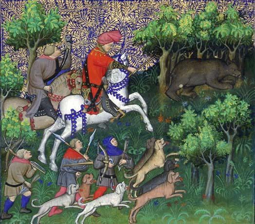 Le Livre de chasse de Gaston Fébus Phe_chap52_2