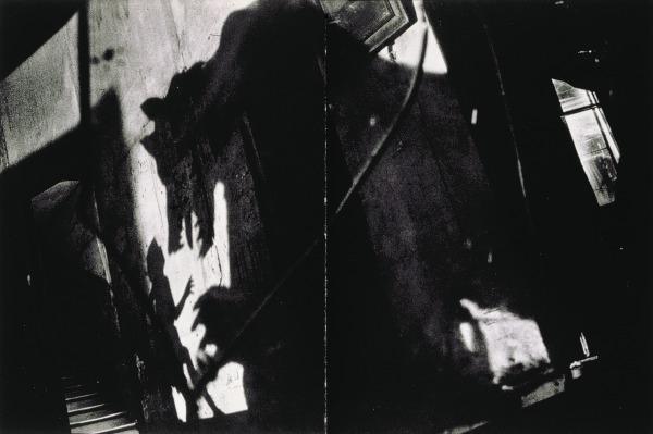 Sarah Moon: 'La rencontre du Chaperon et du loup'; 1983