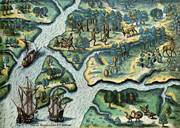 Enluminures: Les aliments au Moyen Âge 1-5