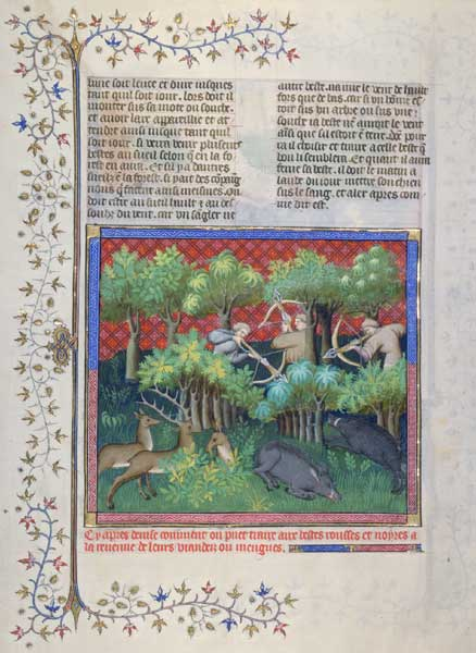 Enluminures: Les aliments au Moyen Âge 0-0