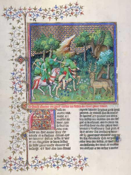 Enluminures: Les aliments au Moyen Âge 0-1