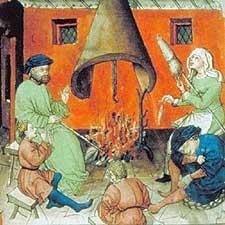 Les Repas au Moyen-Age. 085