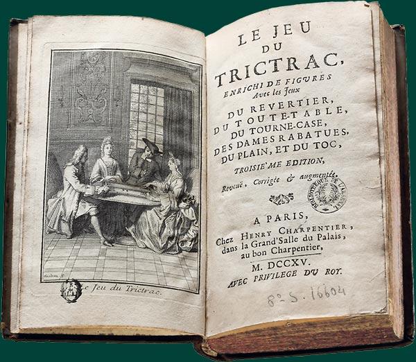 Traité de trictrac