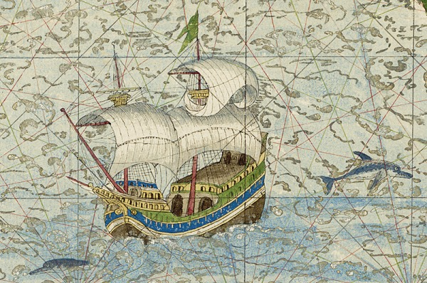 Bnf l 39 ge d 39 or des cartes marines - Mappa dell inghilterra per i bambini ...