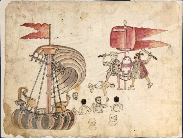 Cortes et la conquête du Mexique