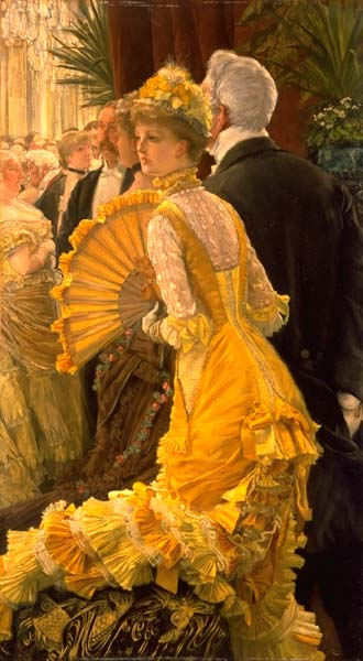 La robe jaune de james tissot