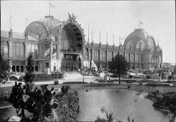 Le palais du champ de Mars (1878)