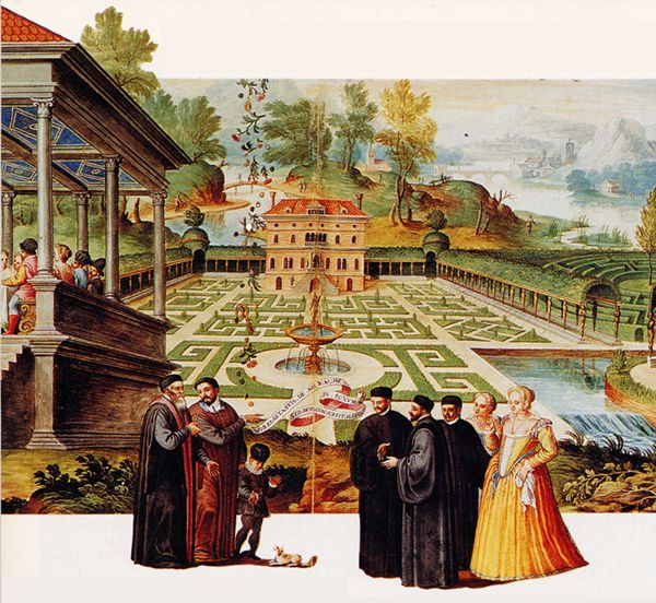 Utopie Parterres D Un Jardin Corinthien