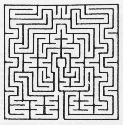 Utopie labyrinthe de la cath drale de saint omer - Labyrinthe dessin ...